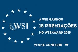 WSI ganha 15 premiações no WebAward 2019