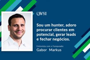 Entrevista com o Consultor WSI, Gabor Markus, de Genebra, Suiça