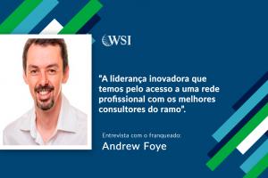 Entrevista com o Consultor Digital WSI, Andrew Foye, da África do Sul