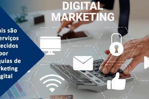 Quais são os serviços oferecidos por franquias de Marketing Digital?